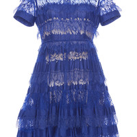 Tiered Lace A-Line Dress | Moda Operandi
