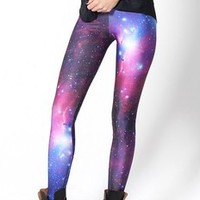 lipa58 — Space Print Pants Leggings