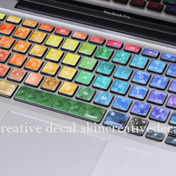 macbook keyboard decal mac pro decals macbook air decal macbook pro keyboard decal laptop decals Avery keyboard decals Apple Mac Decal