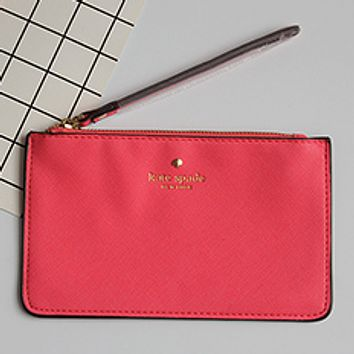 Kate Spade Practical Joker 2017 female new Macaron color card package tide package Watermelon red