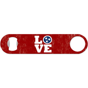 Love TN - Tennessee Tri Star Bottle Opener