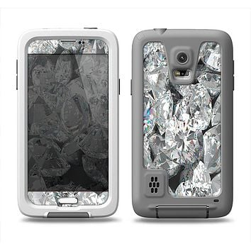The Scattered Diamonds Samsung Galaxy S5 LifeProof Fre Case Skin Set