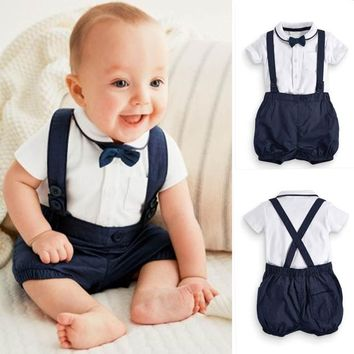 Baby Boys Bow Tie Outfit