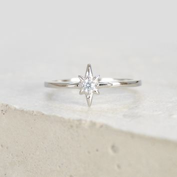 North Star Ring - Silver