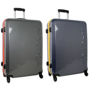 Nautica® Breakwater II 28-Inch Hardside Spinner Suitcase with Telescopic Handle