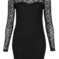 High Neck Paisley Bodycon Dress - Dresses - Clothing - Topshop USA