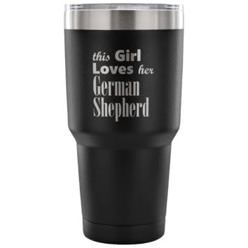 German Shepherd - 30oz Vacuum Tumbler