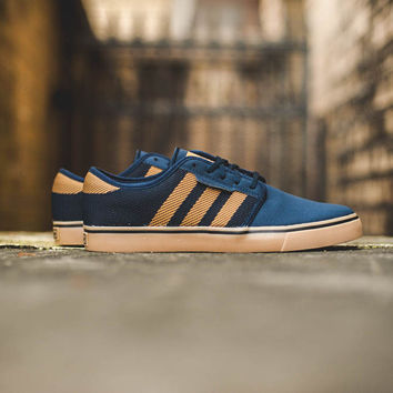 Adidas Seeley Woven - 'Navy/Gold'