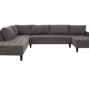 3 Piece Sectional Sofa & Chaise | Vapor Collection | Z Gallerie