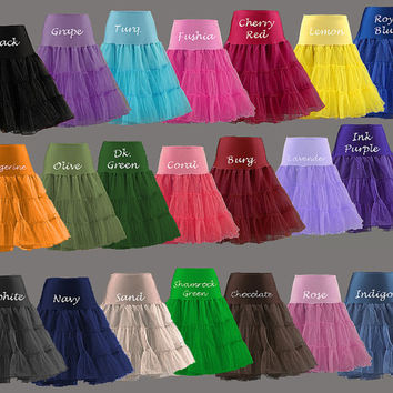 Chiffon Petticoat... Great touch for your Cotton Halter dress sold in my shop...
