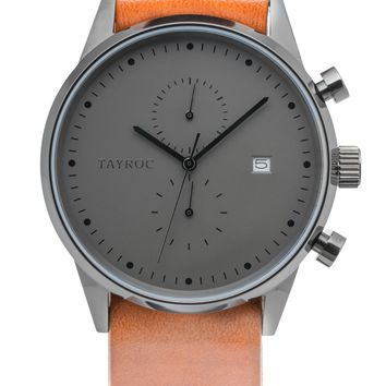 TXM085 - Brown Leather NATO
