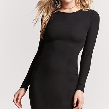 Ribbed Mini Bodycon Dress
