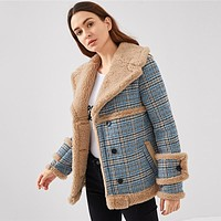 PENNY PLAID OUT OF THE COLD