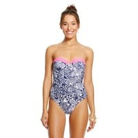 Lilly Pulitzer for Target Women's Underwire One Piece Swimsuit - Upstream