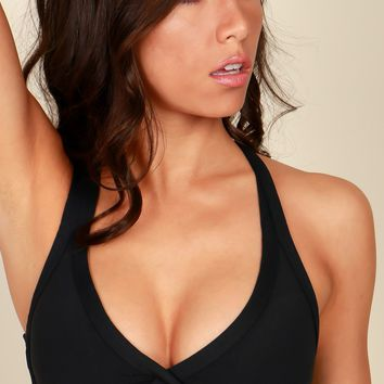 The Fit Life Active Bra Black