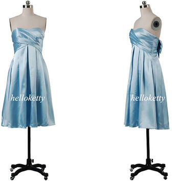 Blue Bridesmaid Dresses,Summer Dresses,Evening Dresses,Short Prom Dresses,Party Dresses,Maxi Dresses,Formal Dresses,Fancy Dresses,GK043