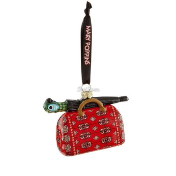 Licensed cool Mary Poppins: Broadway Musical Carpet Bag Umbrella Ornament  Disney Store 2014