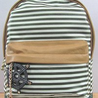 Blue Striples Navy Style Backpack UHB542 from topsales