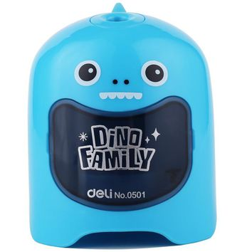 Deli cute automatic Electric pencil sharpener stationery for students Pencil Sharpener Creative school & office supplies