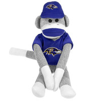 Baltimore Ravens NFL Plush Uniform Sock Monkey