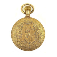 Arnex Elk Pocket Watch 17 Jewels Incabloc Swiss Made / Vintage Pocket Watch