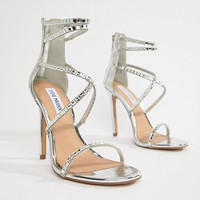 Steve Madden Bringit Strappy Heeled Sandals at asos.com