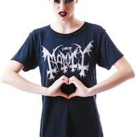UNIF I Love My Mommy Tee Black