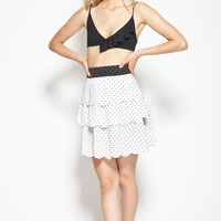 San Onofre Skirt in White
