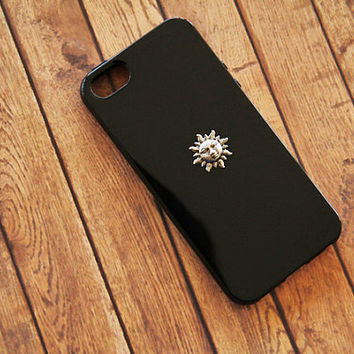 iPhone 5 Sun Case iPhone Case Black iPhone 5s Case Sun Hippie Sun Case Samsung Galaxy S3 Case Samsung Galaxy S4 Case