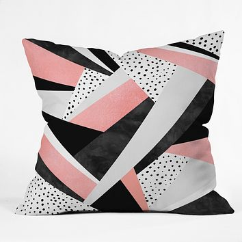 Elisabeth Fredriksson Happy Girl Throw Pillow
