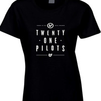 Twenty One Pilots Power To Local Dreamer Oh Womens T Shirt