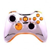 CHROME/GOLD Xbox 360 Modded Controller (Rapid Fire) COD Ghosts, Call of Duty Black Ops 2, MW2, MW3, MOD GAMEPAD