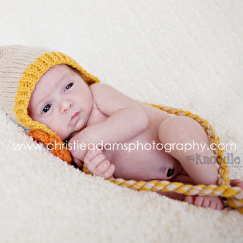 Baby Hat Baby Newborn Hats Baby Crochet Hats by knoodleknits