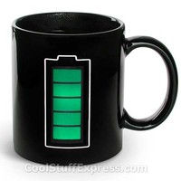 Heat Sensitive Mug Battery