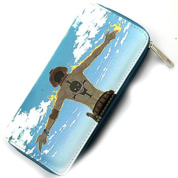 One Piece Anime Long Style Wallet Purse