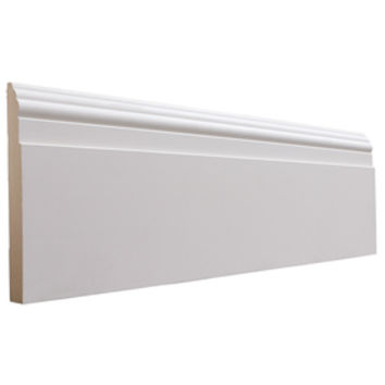 Shop National Trust for Historic Preservation 5.5-in x 8-ft Interior Primed MDF Baseboard Moulding at Lowes.com