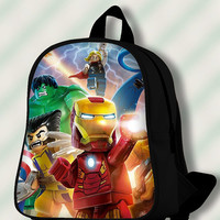 Lego Marvel Superheroes - Custom SchoolBags/Backpack for Kids.