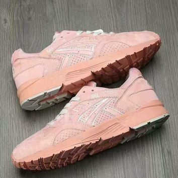 """ASICS GEL LYTE"" Running shoes  Sport Casual Shoes Sneakers Pink"