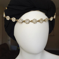 Hijab Chain HeadPiece Bridal HeadChain Matha Patti