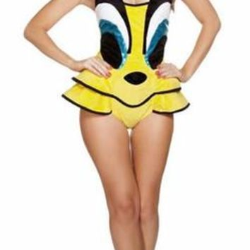 Adult Tweety Bird Taw a Putty Cat Halloween Costume