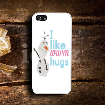 Olaf Hugs Design mobile Phone case