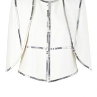 sass & bide |  18 SHADES - ivory | accoutrement | capelets | sass & bide