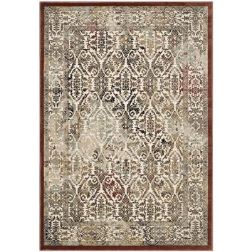 Hester Ornate Turkish 8x10 Vintage Area Rug