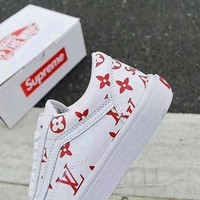 Supreme & LV & Vans Fashion shoes