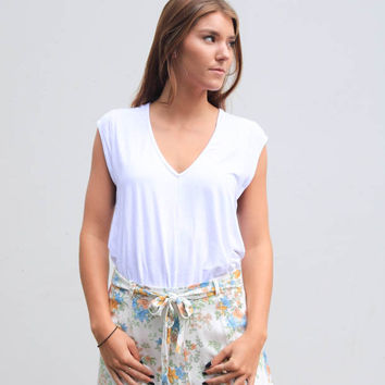 Free People Tees For My Jeans Bodysuit