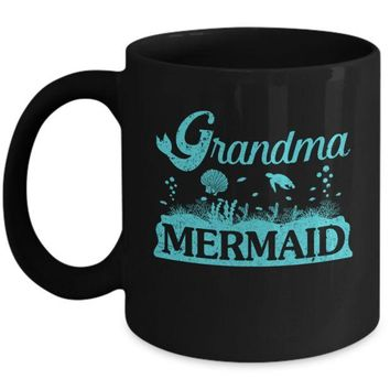 DCKIJ3 Grandma Mermaid Mug