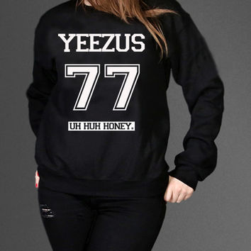 Kanye West Yeezus Sweatshirt Black Unisex Clothing High Quality tee S,M,L and XL (Y4)