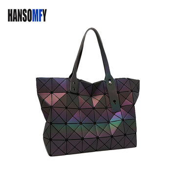 European style big Baobao Handbag bag Tote  Geometric Lady Hand Bags Brand Fashion Large Women Bao Bao issey miyak Bags