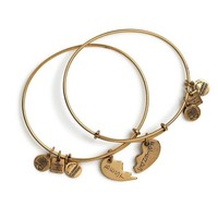 Alex and Ani Best Friends Set of 2 Charm Bangle Bracelets - Rafaeli...