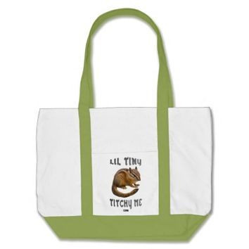 Lil Tiny Baby Design by Kat Worth Tote Bag
